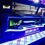 INSIDE 11 SEATS SUPER STRETCH CHRYSLER 300C